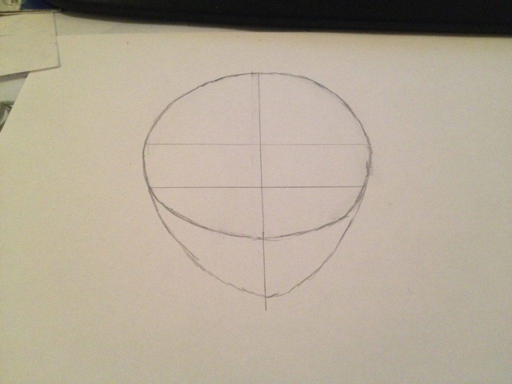 Manga zeichnen lernen - die Kopfform