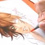 Einen Manga Charakter mit Copic Markern colorieren