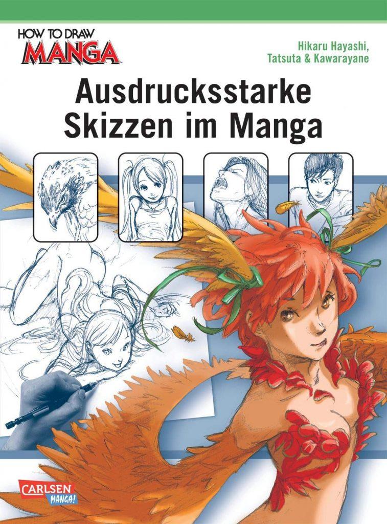 How to draw Manga - Ausdrucksstarke Skizzen im Manga