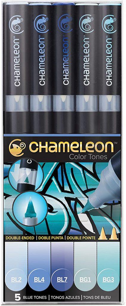 Chameleon Marker Set Blautöne