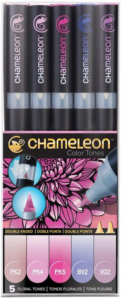 Chameleon Marker Set Blumentöne