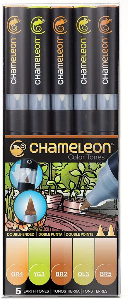 Chameleon Marker Set Erdtöne