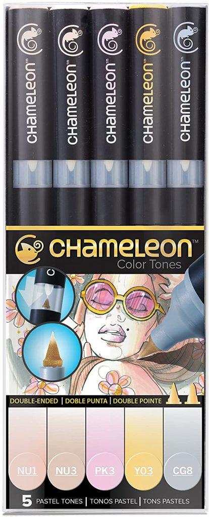 Chameleon Marker Set Pasteltöne 1