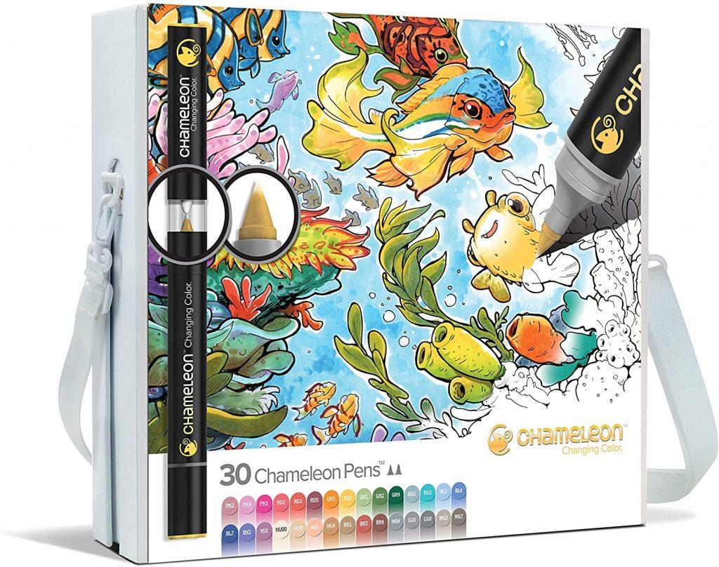 Chameleon Marker Set mit allen 30 neuen Stiften