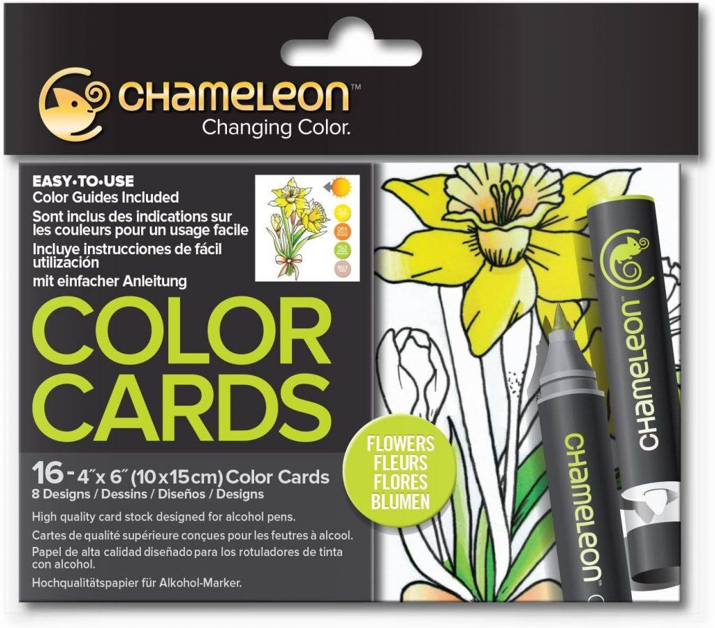 Chameleon Motivkarten Blumen