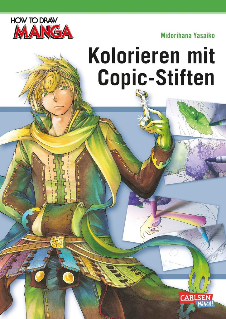 How to draw Manga - Kolorieren mit Copic Stiften