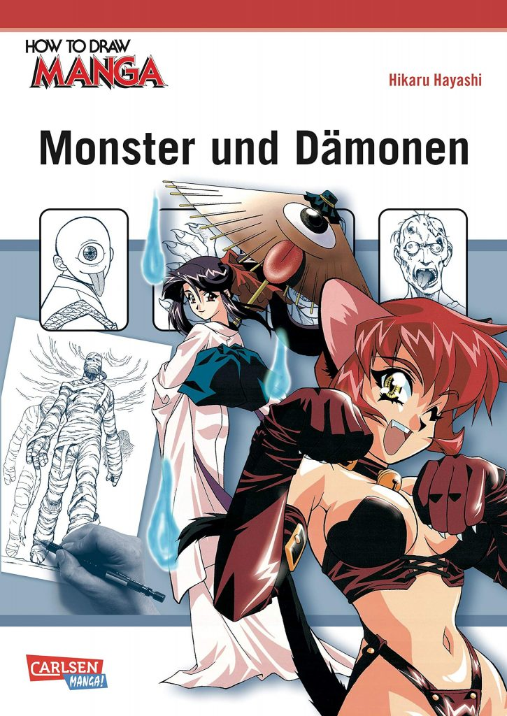 How to draw Manga - Monster und Dämonen