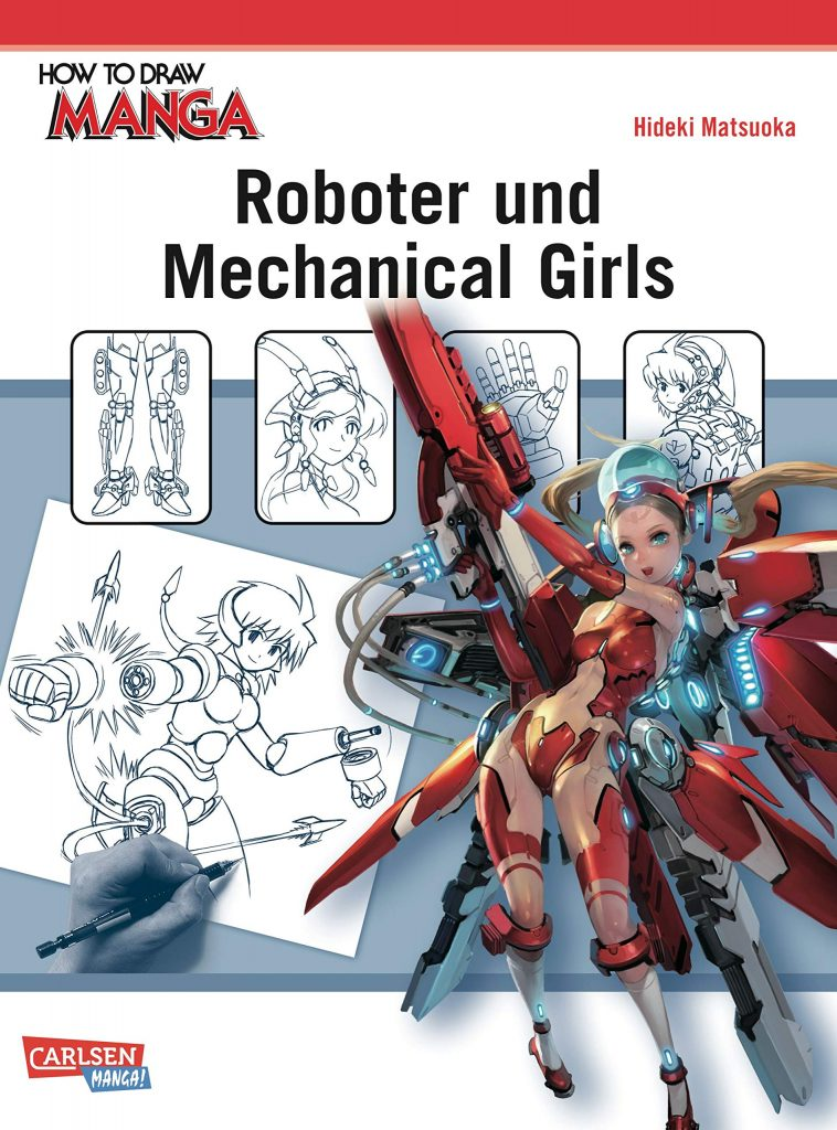 How to draw Manga - Roboter und Mechanical Girls