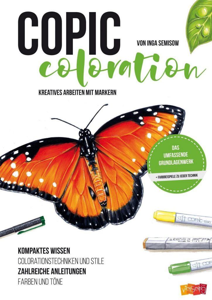 Copic Coloration Kreatives Arbeiten mit Markern