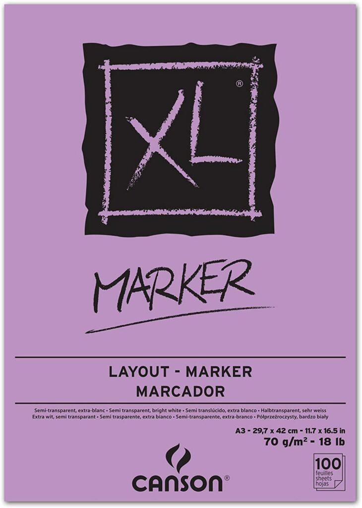 Canson XL Markerblock A3