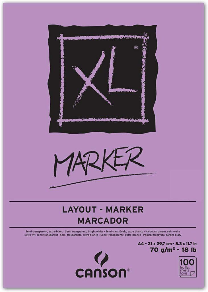 Canson XL Markerblock A4