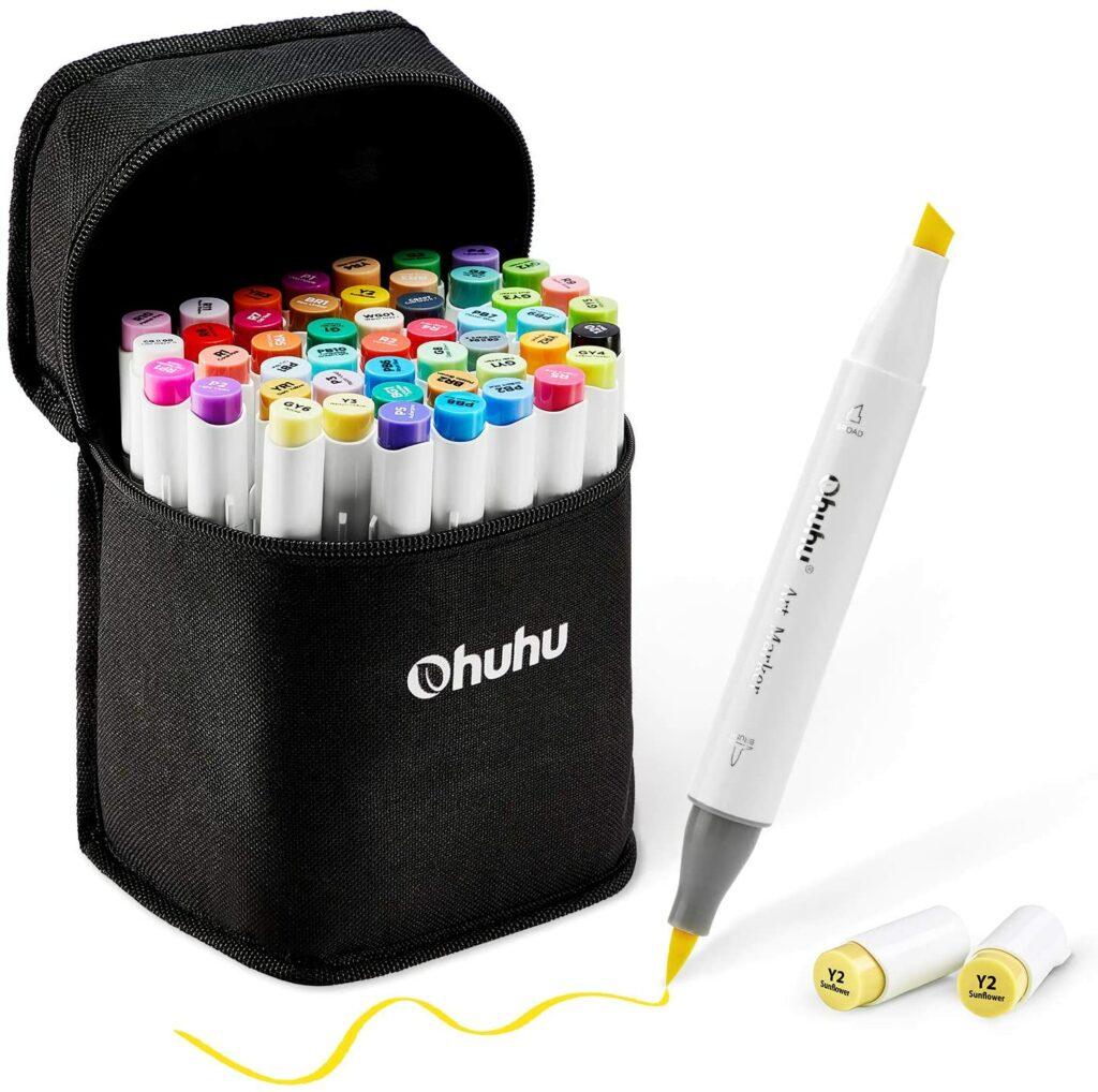 Ohuhu Brush Marker 48