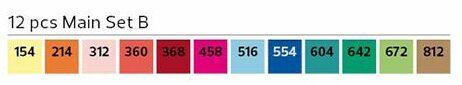 Stylefile Brush 12er Set Main B farben e1607456618614