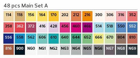 Stylefile Brush 48er Set Main A farben e1607456956455