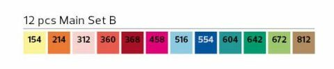 Stylefile Marker 12er Set Main B farben e1607456041274