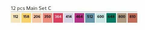 Stylefile Marker 12er Set Main C farben e1607456097138