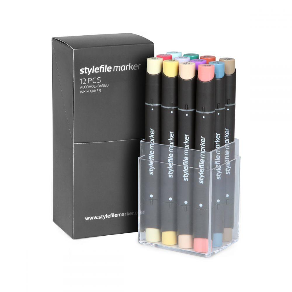 Stylefile Marker 12er Set Main C
