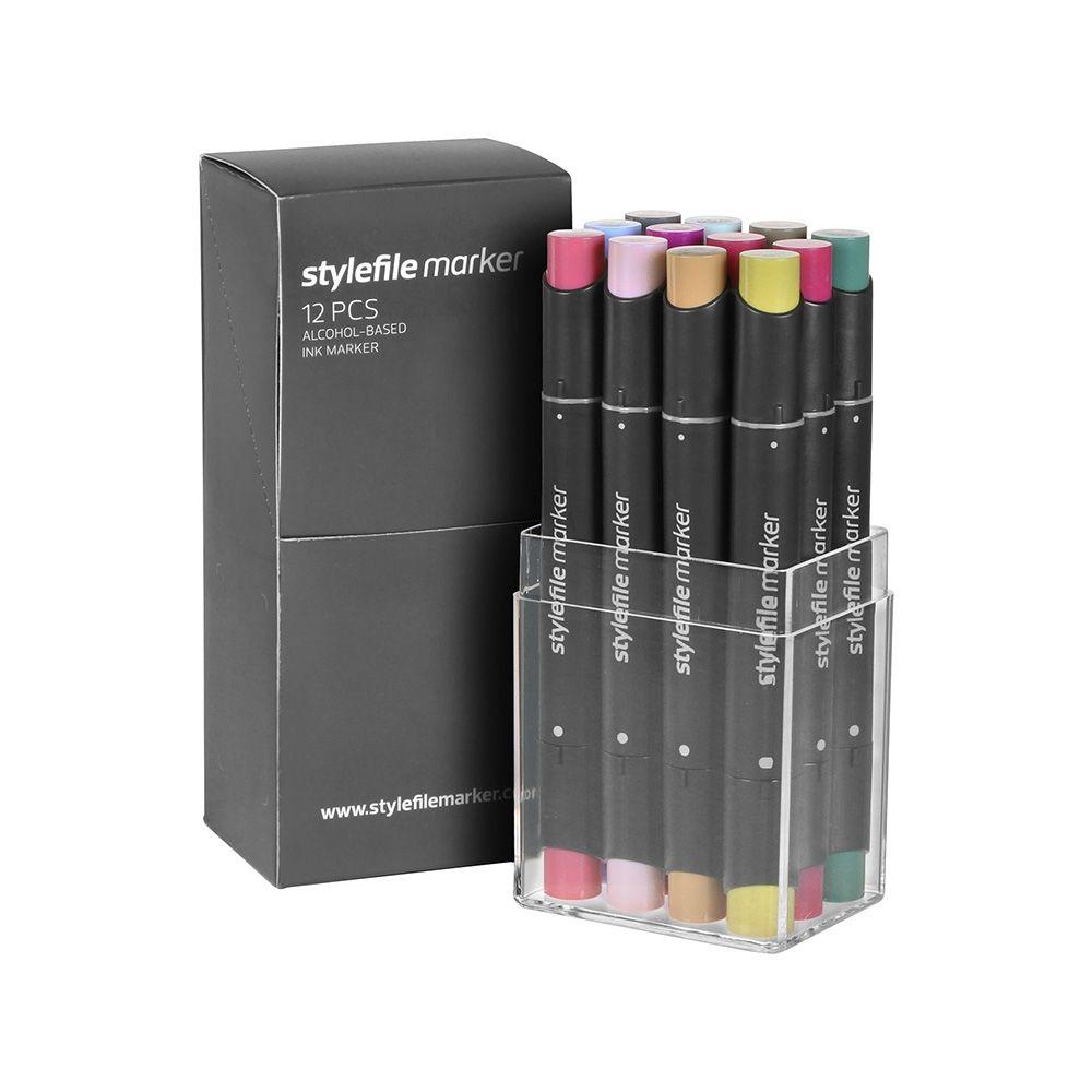 Stylefile Marker 12er Set Multi 20 A