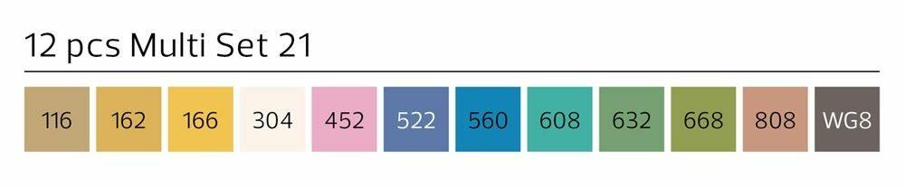 Stylefile Marker 12er Set Multi 21 B farben e1607456154921