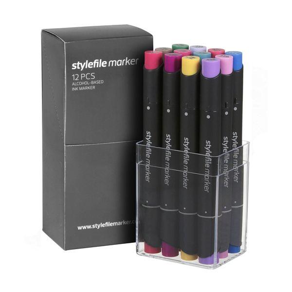 Stylefile Marker 12er Set Multi 21 B