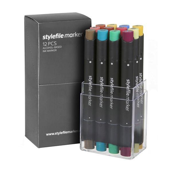 Stylefile Marker 12er Set Multi 22 C