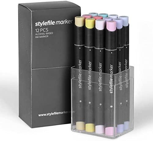 Stylefile Marker 12er Set candy