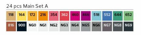Stylefile Marker 24er Set Main A farben e1607456356769