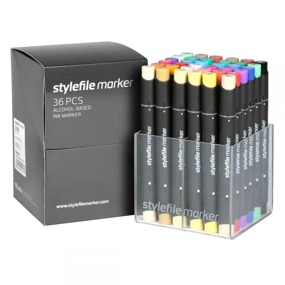 Stylefile Marker 36er Set Main A