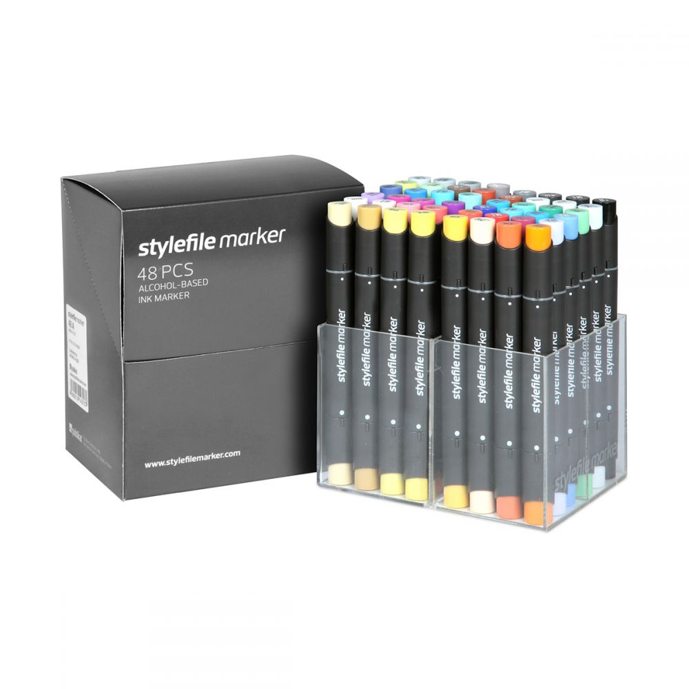 Stylefile Marker 48er Set Main A