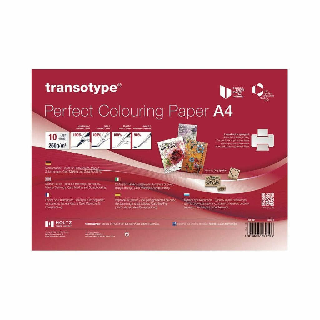 Transotype Perfect Colouring Paper